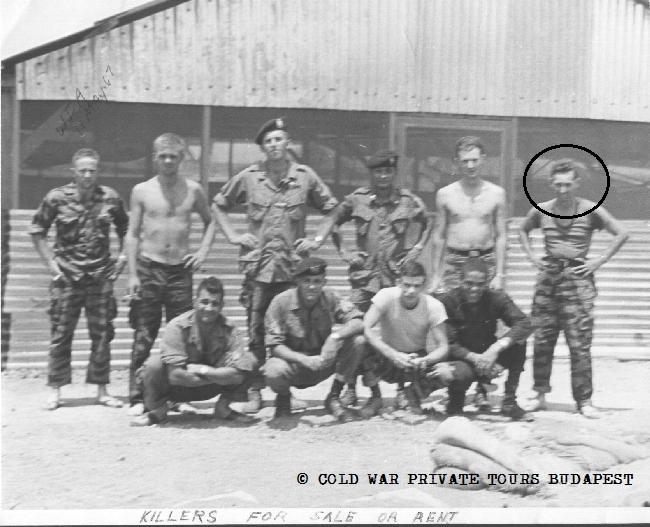 Vietnam War, Special Forces, Cold War, Budapest, Hungary, USA, Soviet Union, Szentiványi-Deák, private tour, communism