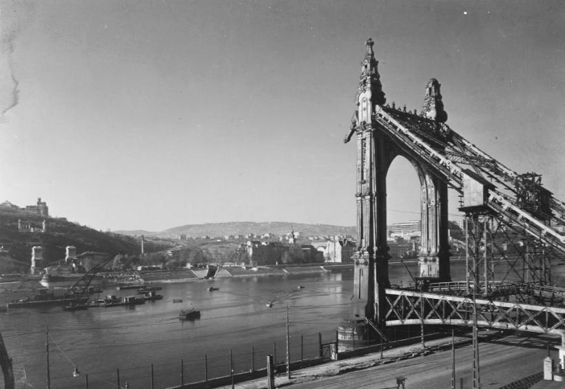 Budapest in 1953