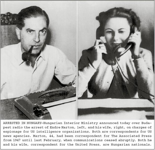 Andrew Marton and his wife, Ilona Nyilas